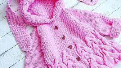 Girls knitwear 2 390x220 - آموزش بافت سارافون یا دامن پیش بندی با قلاب