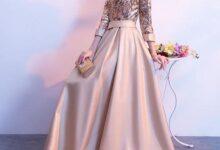 www.araas .ir 5 25 220x150 - مدل لباس شب پوشیده بلند / لباس مجلسی آستین دار شیک