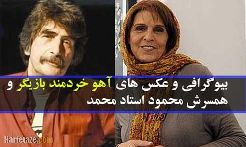 Ahoo Kheradmand harfetaze com 7 - بیوگرافی آهو خردمند و همسر و پسرش کاووس + ماجرای عکس های بی حجاب و فوت همسرش