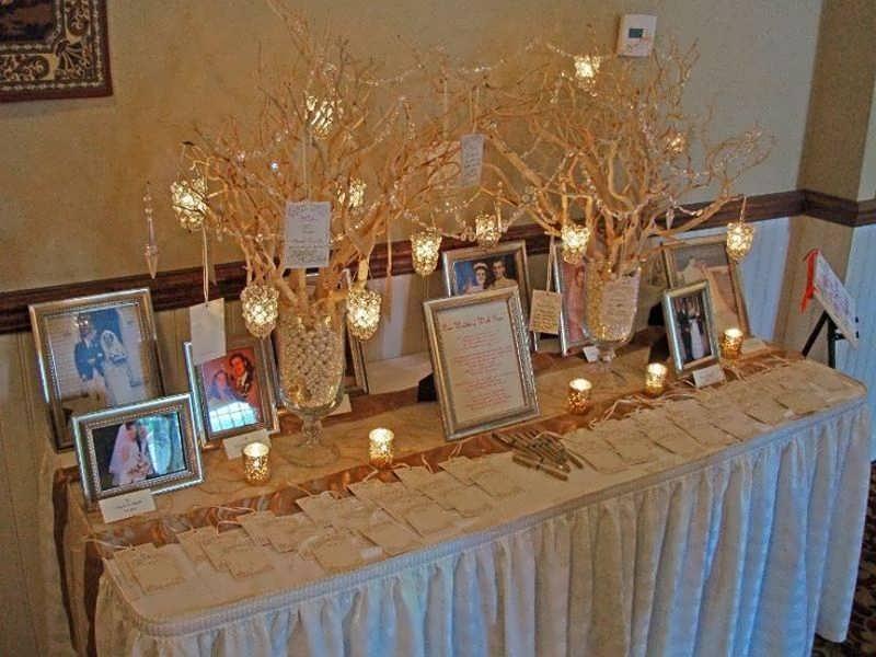 Memorial table 4 - برای تزیین و چیدمان میز خاطره از این ایده های جالب استفاده کنید