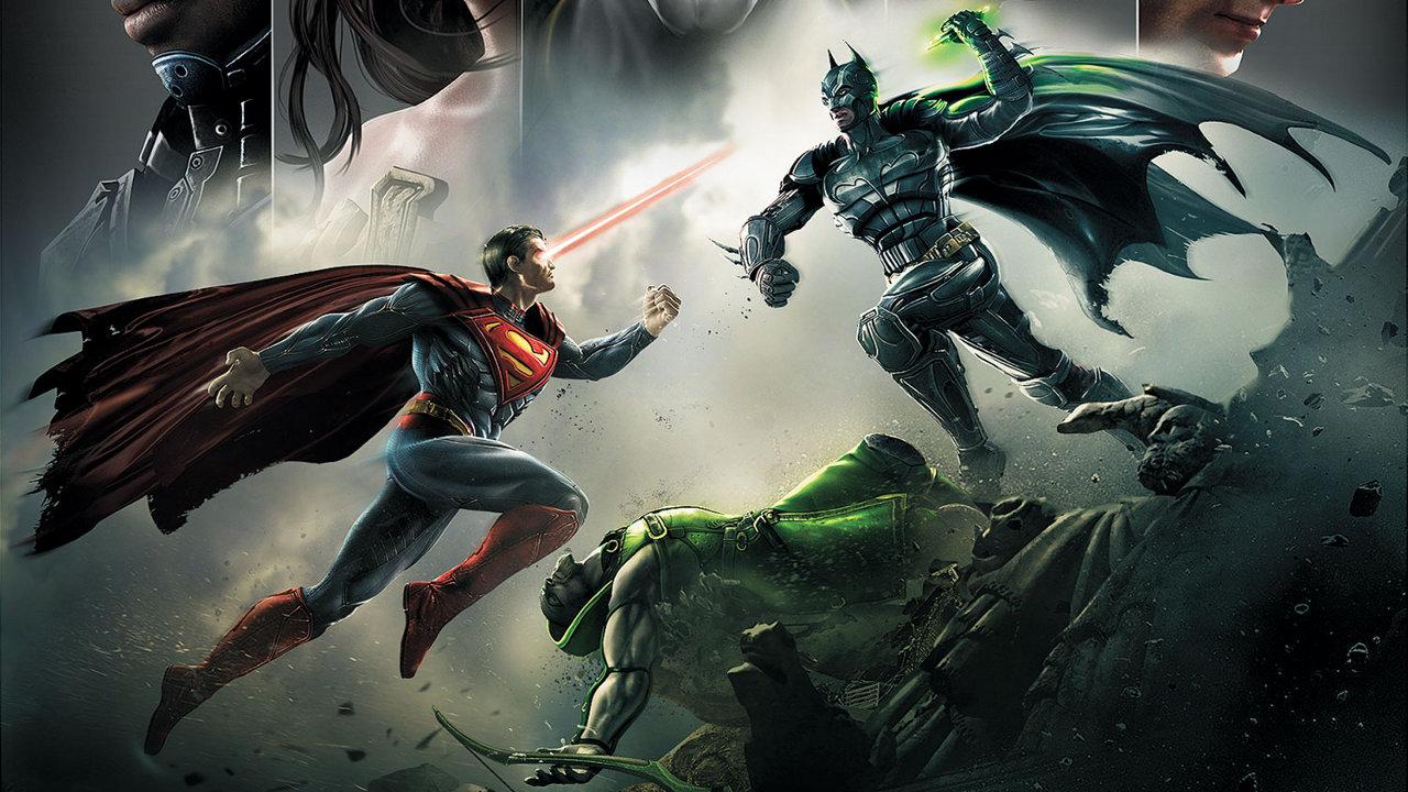 injustice 11 - معرفی انیمیشن Injustice: Gods Among Us توسط دی سی و وارنر