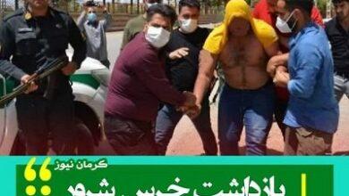 khers kerman 400x330 390x220 - خرس شرور کرمان کیست + لحظه دستگیری