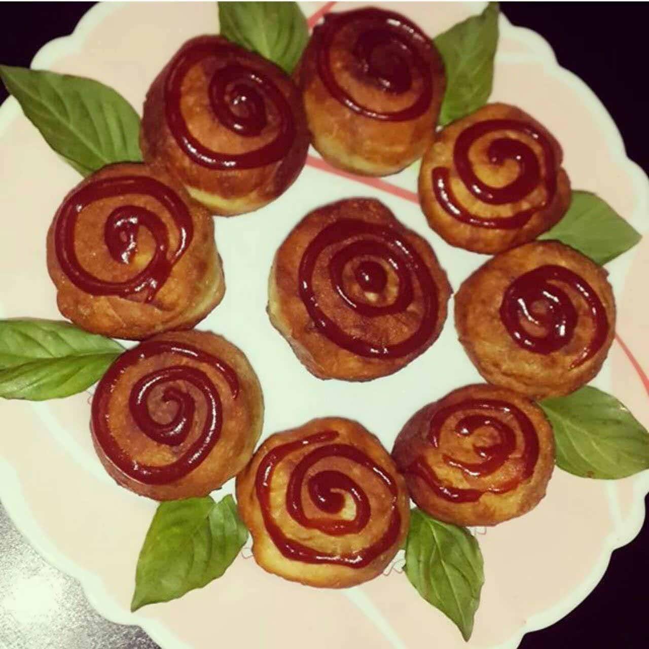 sos - ایده های جالب تزیین غذا با سس