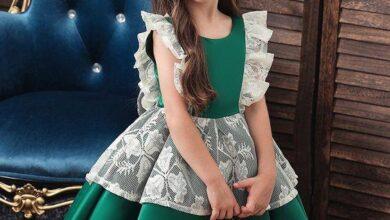 www.araas .ir 49 3 390x220 - مدل های زیبای پیراهن مجلسی دخترونه بچگانه شیک