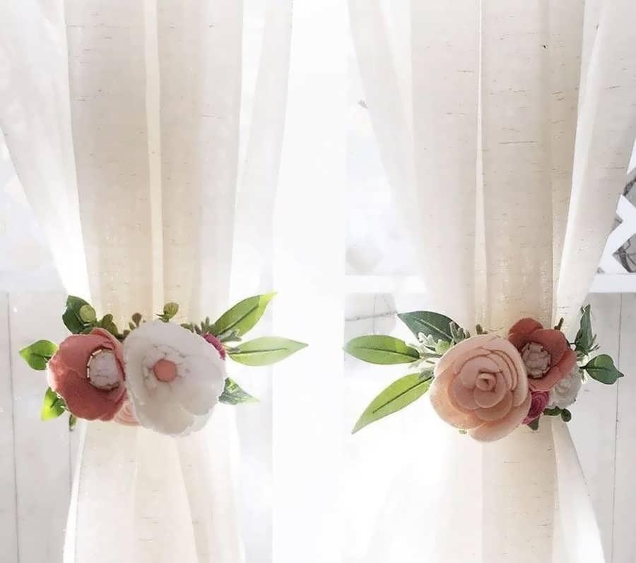 Decorate the brides room with felt 13 - تزیین اتاق عروس با نمد با خلاقیت های رمانتیک