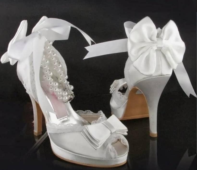 Decorated wedding shoes 10 - تزیین کفش عروس با ایده های جالب و شیک