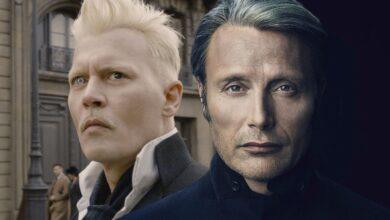 Fantastic Beasts Mads Mikkelsen Grindelwald Johnny Depp SR 390x220 - مدس میکلسن می گوید که تقلید از بازی جانی دپ در نقش گریندلوالد خودکشی است