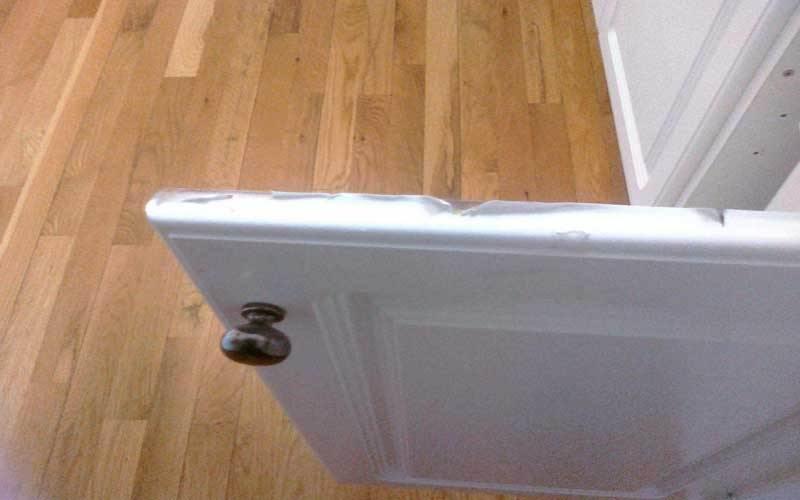 Fixing inflating cabinets 1 - اقدامات مهم برای رفع باد کردن کابینت و نجات کابینت ها از رطوبت