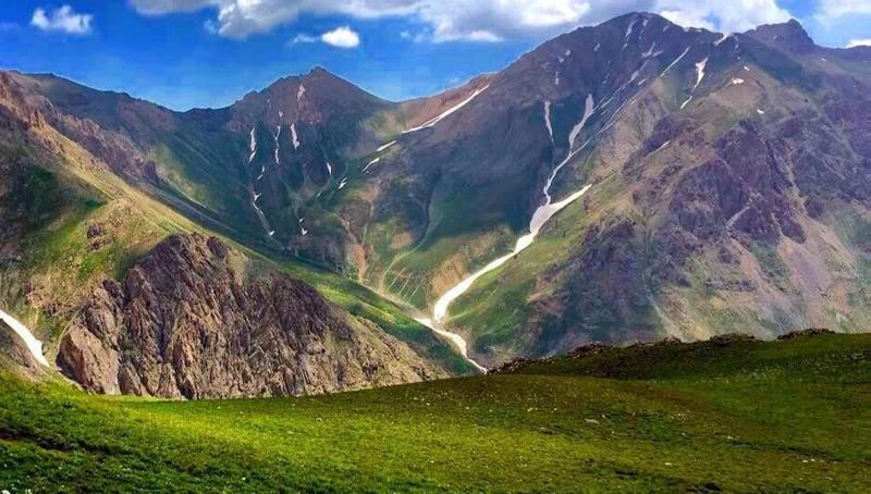 abnik - روستای آبنیک رودبار با مناظر و چشم اندازهای زیبا