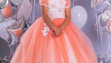 girl dress 40 390x220 - ۱۰۳ مدل لباس مجلسی دختر بچه جدید | مدل پیراهن دخترانه شیک