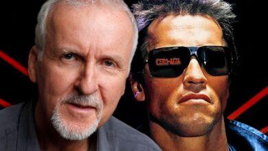 James Cameron and Arnold Schwarzenegger as Terminator 390x220 - اعتراف جیمز کامرون به مصرف مواد توهم زا هنگام نوشتن فیلمنامه ترمیناتور