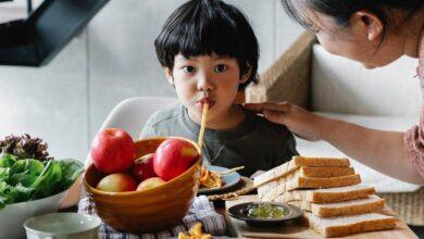 00 45 390x220 - چند روشی که با استفاده از آن ها والدین ژاپنی به بچه های بد غذا کمک می کنند