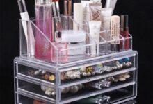 1632320052 7 220x150 - خرید باکس لوازم آرایش شیشه ای مخصوص زنان و تازه عروسان